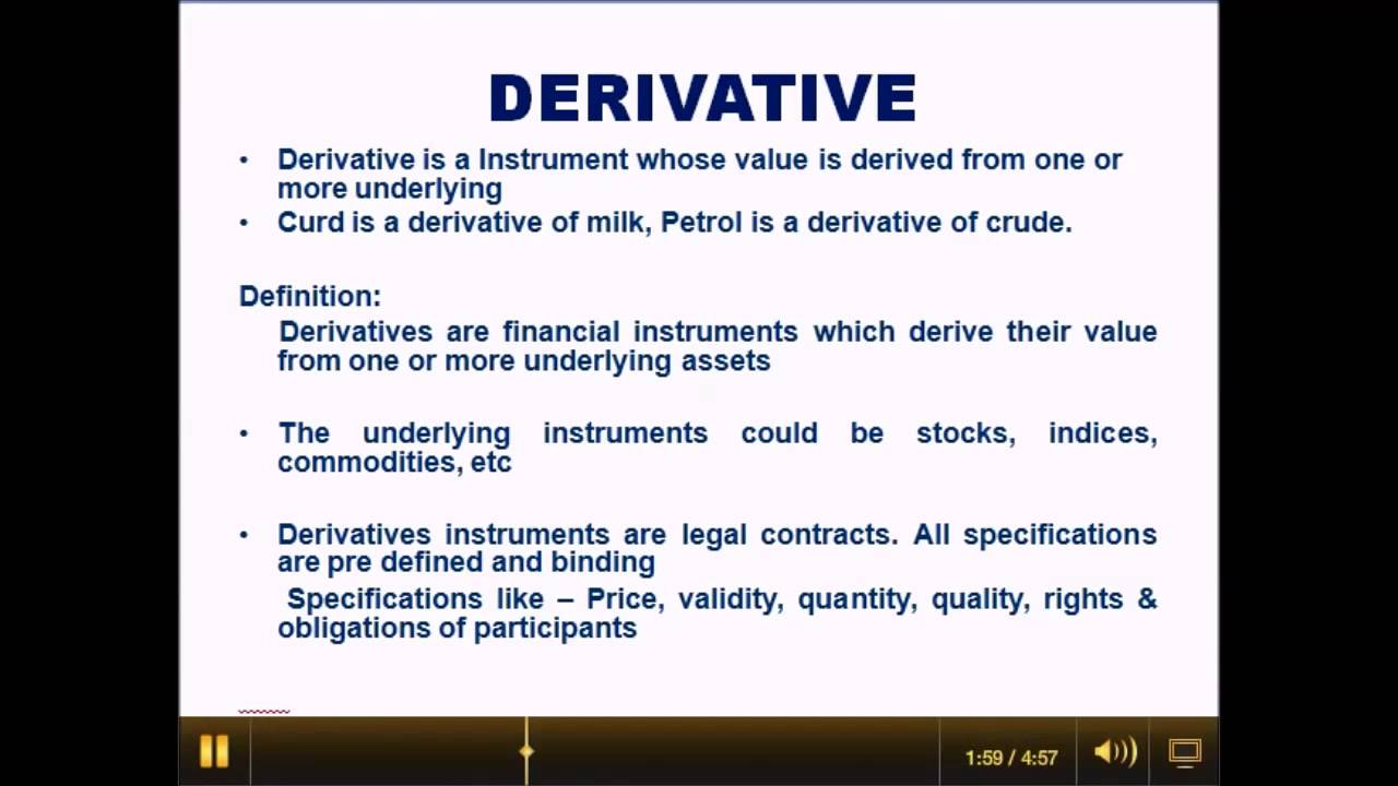 Forex derivative market in india