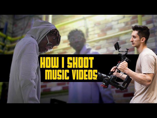 How I shoot RAP - HIPHOP Music Videos!   RoyalZProduction (4k)