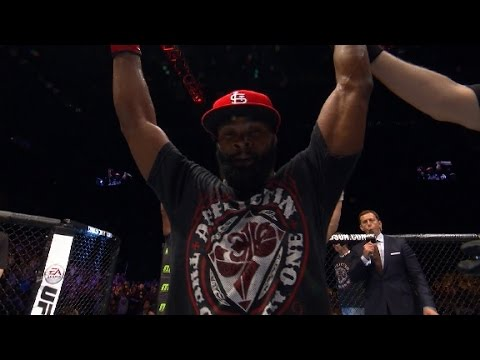 Fight Night Macao Tyron Woodley Octagon Interview