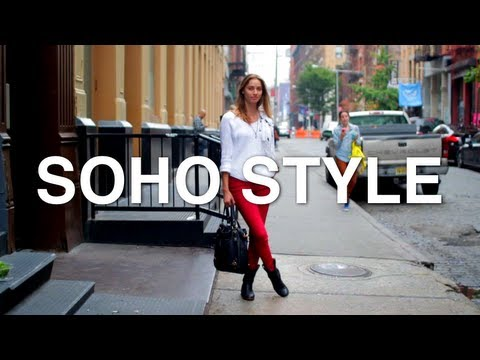 Street Style Fashion 2012 / SoHo, New York