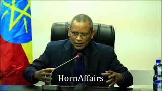 Deputy Prime Minister Debretsion G/Michael about Tigray and displaced people from Gondar PART 1