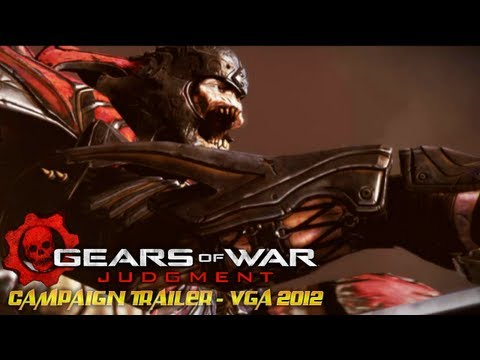 Gears of War Judgment : Campaign Trailer - VGA 2012 (Sub Ita - Sub Esp)