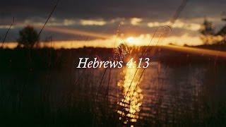 Redeemed - Hebrews 4:13 (Official Lyric Video)