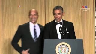 Օբաման կատակում է