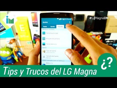 LG Magna - Tips y trucos