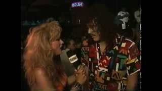 Rhonda Shear interviews Everyone and gets hit with a few Pies