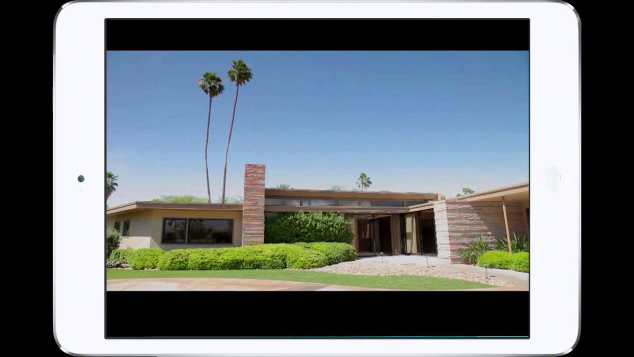 Palm Springs Modern Mid Century Architecture Tour App Youtube
