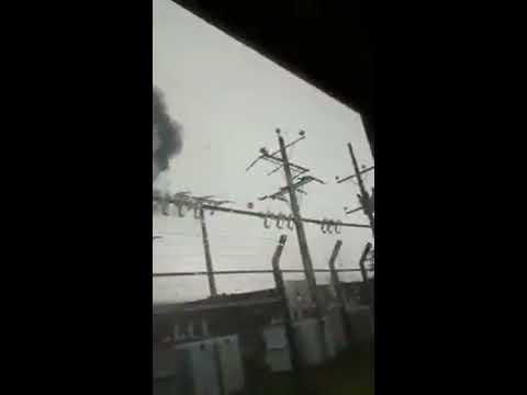 Rayo cae en Puerto Montt - Video de Jorge Pacheco