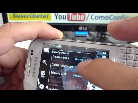 caracteristicas camara samsung galaxy chat gt b5330 español Video Full HD