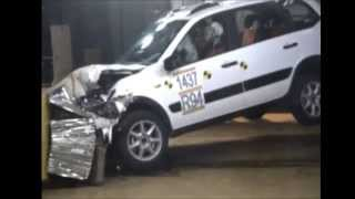 crash test Lada Kalina Cross 2014