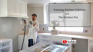 Painting Kitchen Cabinets with The Kitchen Pro