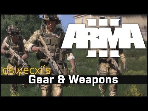 Dslyecxi's Arma 3 Gear & Weapons Customization Overview