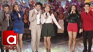 ASAP: KathNiel, LizQuen, JaDine Sing Thank You For The Love