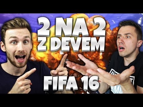 CZY REAL MADRYT DA RADĘ?!  | 2VS2 Z DEVEM FIFA 16