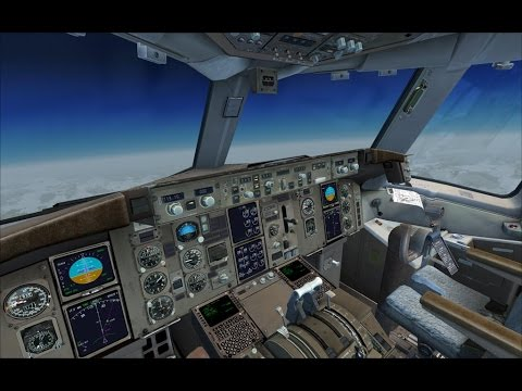 [FSX Steam] Captain Sim Tour.  KDTW - KDEN in the Boeing 757