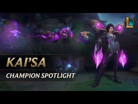 Kai'Sa Champion Spotlight | Gameplay - League of Legends