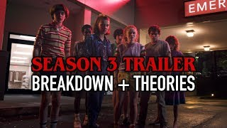 STRANGER THINGS 3 Official Trailer Breakdown + Theories