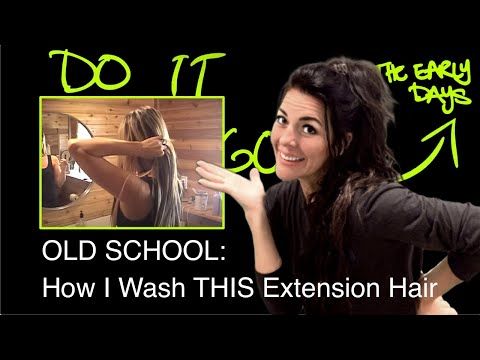 How To Best Wash. Dry and Comb Your Hair Extensions by ManeMaxx®