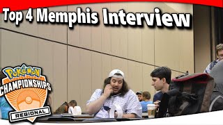 Top 4 Buzzwole/Lycanroc/Magcargo Memphis Regionals Interview