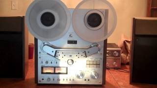 AKAI GX-635D Reel to Reel. Serviced and Working Beautifully. AWESOME DECK. ZCUCKOO