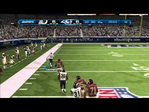 Madden 13:GOONBALL SUCKS-Madden 13 ONLINE GAMEPLAY-RAMS Vs. REDSKINS