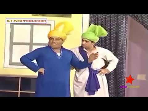 New Punjabi Stage Drama Nasir Chinyoti And Zafri Khan Full Comedy Show 2018