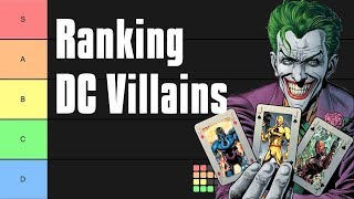 DC Villains Tier List
