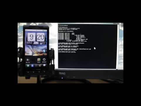How to root Droid X using Birdman's method from http://AllDroid.org