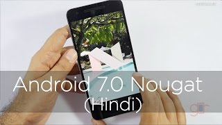 New Android 7.0 Nougat Features Using Nexus 6p (Hindi)