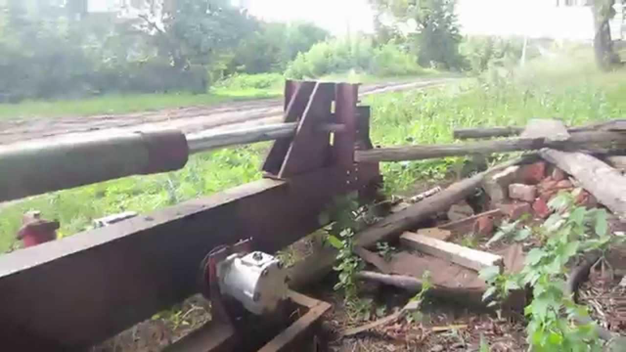 Видео дровокол гидравлический своими руками видео 220в