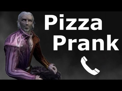 Sheogorath Orders a Pizza - Skyrim Prank Call Music Videos