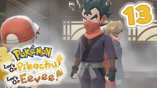 How To Beat Gym Leader Koga | Pokémon Let's Go Pikachu! & Let's Go Eevee! Walkthrough - Part 13