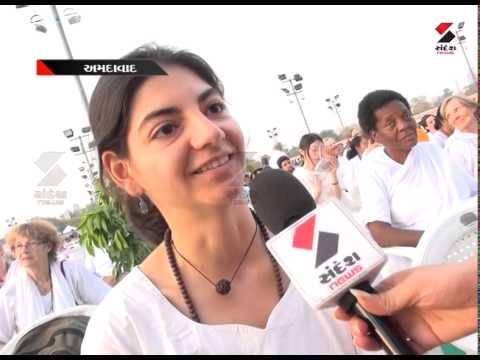 Sandesh News  : Bhakti Sandesh Maa  Amma in Ahmedabad Part 2