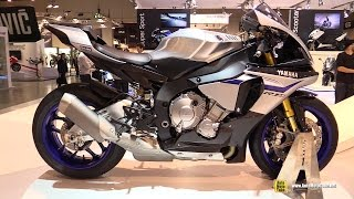 2015 Yamaha YZF-R1 M - Walkaround - Debut at 2014 EICMA Milan Motorcycle Exhibition
