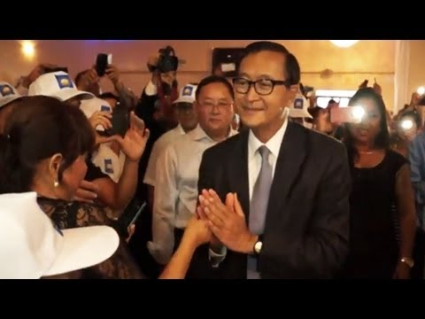A Public Forum with Sam Rainsy Parts 1 of 3
