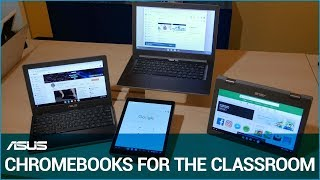 ASUS Chromebooks for Education - News from CES 2019