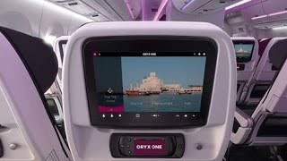 QATAR ORYX ONE INFLIGHT ENTERTAINMENT REVIEW