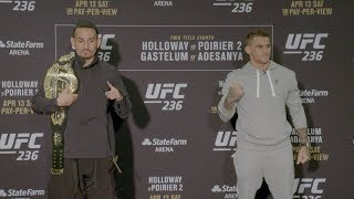 UFC 236: Media Day Faceoffs