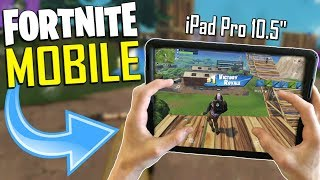 FAST MOBILE BUILDER on iOS / 510+ Wins / Fortnite Mobile + Tips & Tricks!