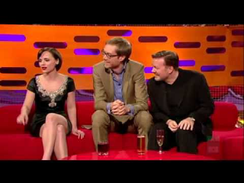 Christina Ricci best quote ever in The Graham Norton Show