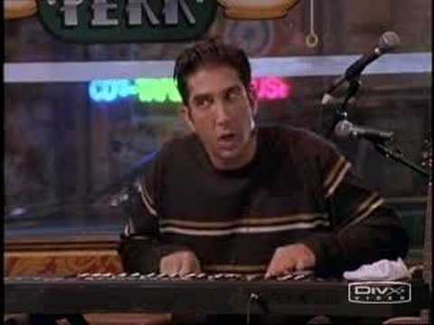 Ross playing Keyboard