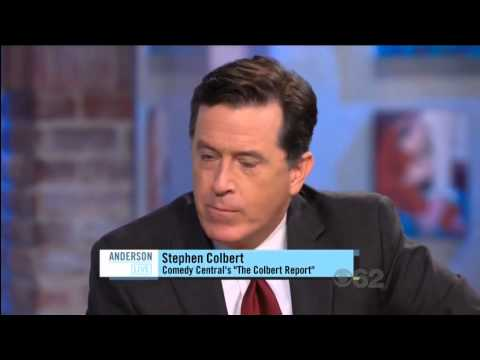 Stephen Colbert on Anderson Live