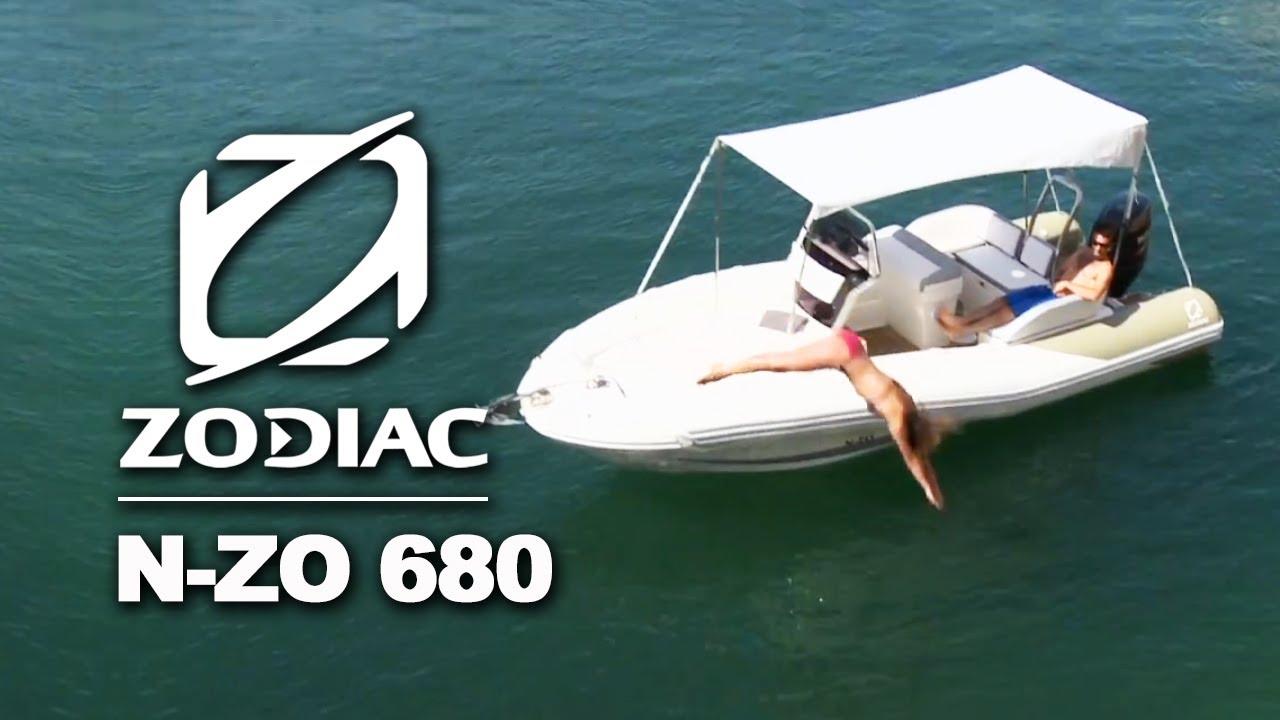 Zodiac N Zo 680 Rigid Inflatable Boats Rib Youtube