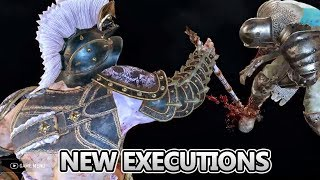 NEW SEASON 9 EXECUTIONS   FOR HONOR