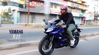 Yamaha R15 V3.0 Detailed Review!! [Finally Dual Channel ABS]