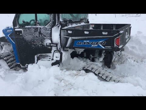 Ranger 1000xp in a big blizzard