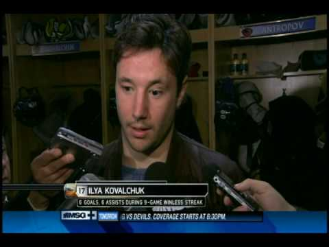 Ilya Kovalchuk (01/07/10) Video