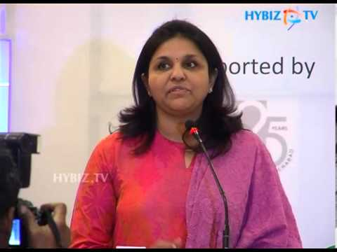 Sangita Reddy talking at FICCI Andhra Pradesh State Council