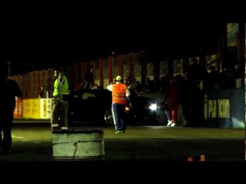 Choque Camaro en el Galvez 1/4 de milla