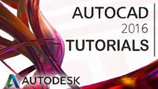 AutoCAD 2016 - Tutorial for Beginners [COMPLETE]*